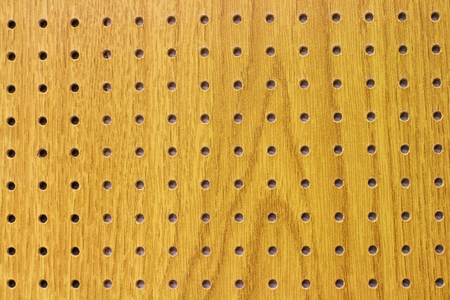 Chipboard texture with holes - pattern Stock Photo