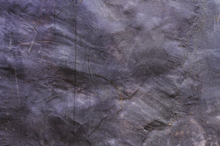residence: Textured dark natural texture of the old stone house