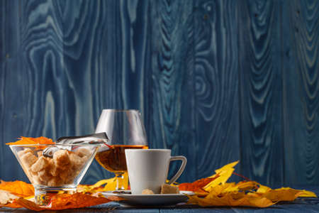 edel: set of coffee and cognac
