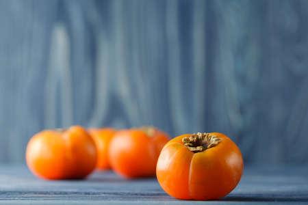 Sweet ripe persimmons