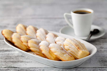Madeleine is a French cookiecake made of butter, eggs, and flour. Easy recipe for the best madeleine that you cant stop eating.
