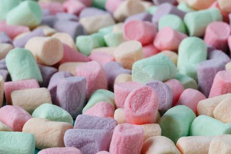marshmellow: Colorful small marshmallows