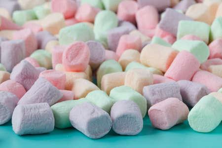 produits alimentaires: Coloré de guimauves
