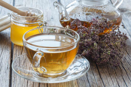 Dried herbals for tea and breawed medicine tea