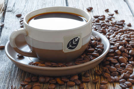 Coffee, chocolate and spices Stock Photo