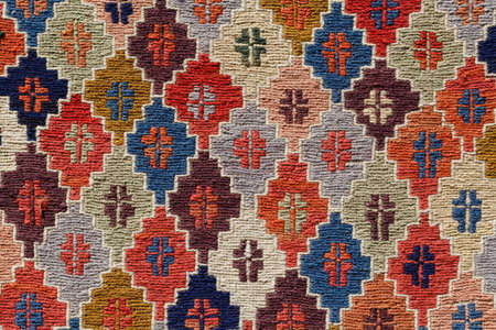 ornament pattern rug background Banco de Imagens
