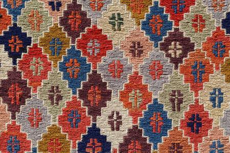 ornament pattern rug background Archivio Fotografico