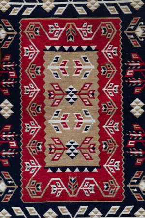 Georgian Caucasian Antique Kilim Rugs on local market