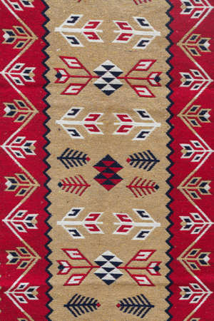 element of the Caucasian kilim pattern Stockfoto