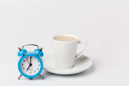 time to drink coffee in the morning