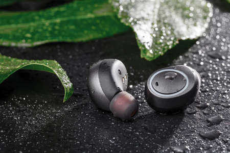 Sport waterproof cordless earphones for every day listening music