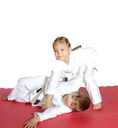 Karate auf der Matte