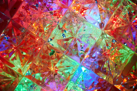 Crystal background colored with different colors Reklamní fotografie