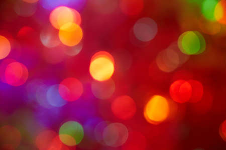Blurred dotted background with red color advantage