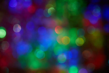 Blurred dots background with the advantage of green blue