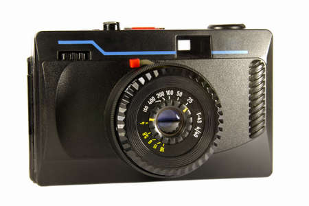 epoch: The old film camera of an epoch of 80 years Archivio Fotografico