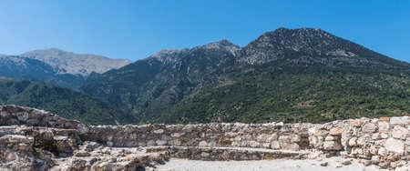 greece granite: hills