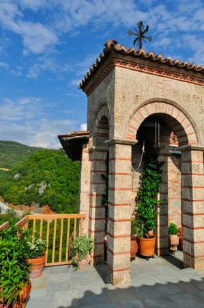 monastery: In a mountain monastery