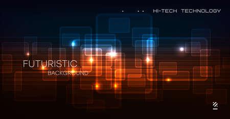 Abstract circuit board technology. Technological design. High tech digital technology concept.Vector