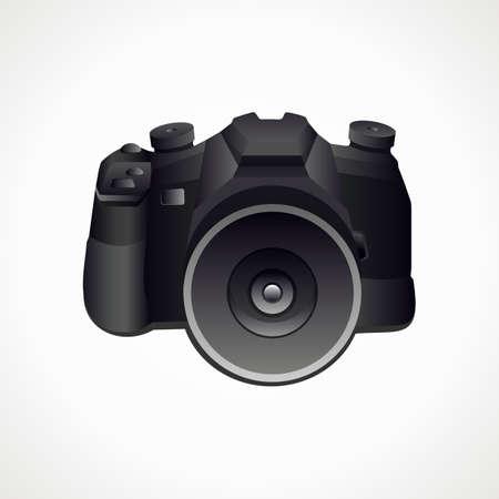 Camera 3D. Vector format. Photography. Vector