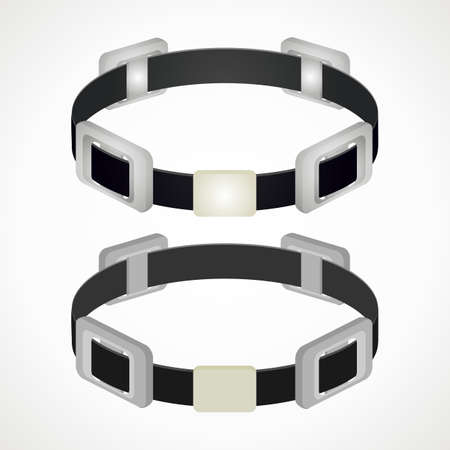 diving belt. scuba gear. vector format