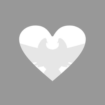 faithfulness: Dove into the heart Illustration