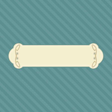 escaparates de tiendas: Plantilla para la tienda de se�alizaci�n, formato vectorial.