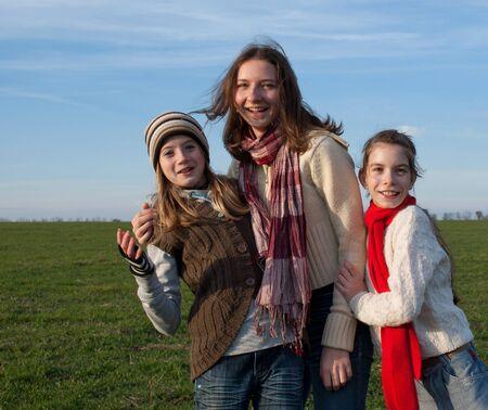 Happy girls Stock Photo - 8506322
