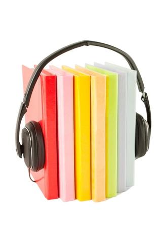 audible: Audiobooks concept Stock Photo