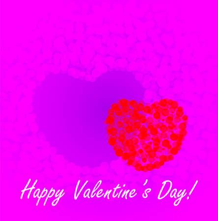st valentine: D�a de San Valent�n de fondo Foto de archivo