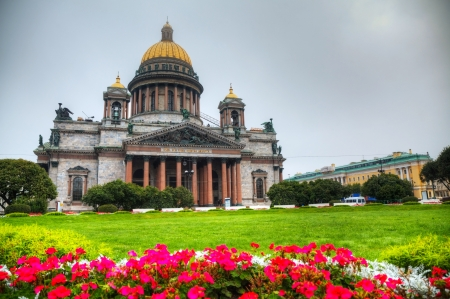 Saint Isaac cathedral in St  Petersburg photo