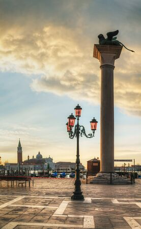 San Marco square in Venice, Italy early in the morning Stock Photo - 17184943