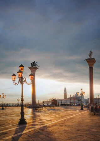 San Marco square in Venice, Italy early in the morning Stock Photo - 17184891