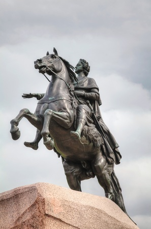 peter the great: Statue of Peter the Great in Saint Petersburg, Russia