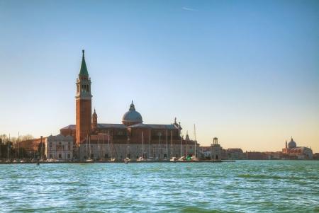 Basilica Di San Giogio Maggiore in Venice at noon time Stock Photo - 17467304