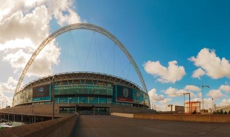 ロンドン - 5 月 20 日: ウェンブリー スタジアム 2012 年 5 月 20 日にロンドン、英国。この 90,000 容量会場、ヨーロッパで二番目に大きい競技場であり