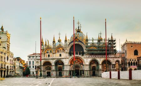 San Marco square in Venice, Italy early in the morning Stock Photo - 18222640
