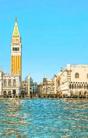 San Marco square in Venice, Italy Stock Photo - 18480115