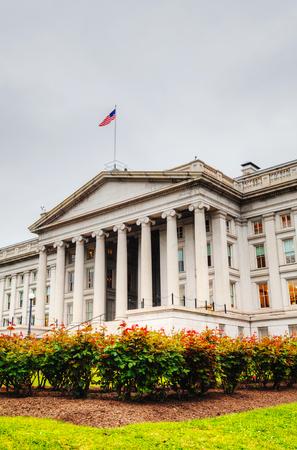 treasurer: The Treasure Department building in Washington, DC