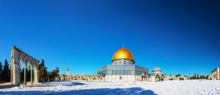 Dome of the Rock mosque in Jerusalem, Israel Standard-Bild