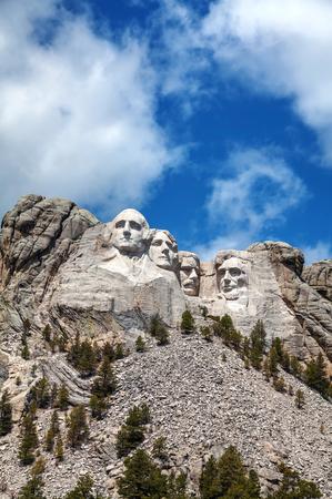 thomas stone: Mount Rushmore monument in South Dakota in the morning Editorial