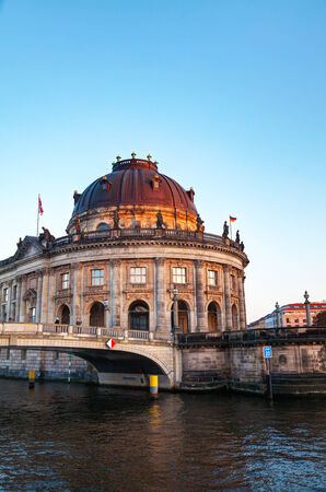Bode museum in Berlin, Germany in the evening Editorial