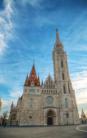 matthias: St Matthias church in Budapest in the morning
