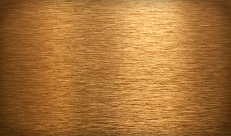 bronze: Bronze surface texture with light reflection Stock Photo