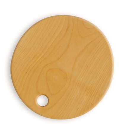 hardboard: Empty wooden hardboard isolated on white Stock Photo