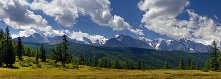 to altai: North-Chuya ridge in Russia, Altai (28 Mpx) Stock Photo