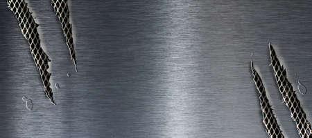 rend: Torn metal texture