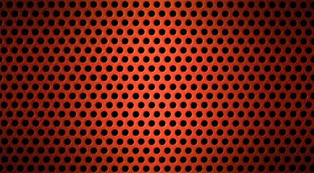 malla metalica: metal rojo emboc� o perforados de fondo de la cuadr�cula