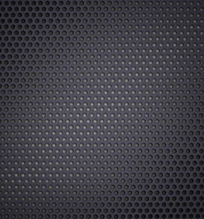 holed: metal holed or perforated grid background