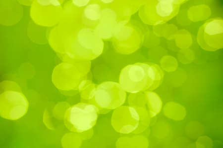 Green blurred abstract background or bokeh photo